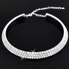 Accessori sposa set collana orecchini moda pietre argento
