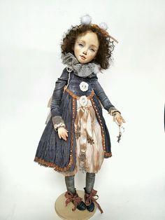 Купить кландестин. авторская коллекционная интерьерная кукла ручной работы - кукла, куклы
