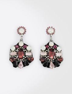 Rhinestone earrings Weekend Maxmara