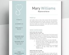 Registered nurse resume template for word New Grad Nursing Resume, Nursing Cv, Nursing Resume Examples, Nursing Resume Template, Good Resume Examples, Nursing Assistant, Resume Template Free, Resume Ideas, Templates Free
