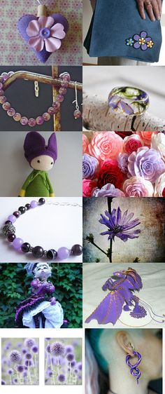 Purple by Elissa Haque on Etsy--Pinned with TreasuryPin.com