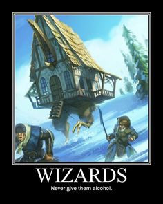 ddemotivators:  Wizards posted by NagromC