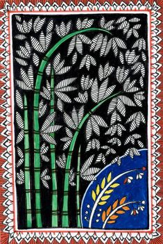 These are illustrations inspired by Madhubani painting--a folk art from India Pichwai Paintings, Indian Art Paintings, Abstract Paintings, Kalamkari Painting, Zentangle, Paper Flower Art, Madhubani Art, Indian Folk Art, Painting Tips