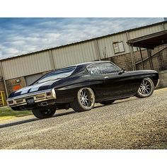 From: chevyhighmag - Can\'t help but take another look at that sweet DSE-built Chevelle #Chevelle #LSX #mastmotorsports #protouring #chevyhighperformance -  More Info:https://www.instagram.com/p/BU0UoQ4D52R/