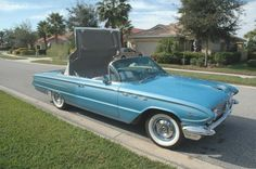 1961 Buick LeSabre Convertible..Re-pin...Brought to you by #HouseofInsurance for #CarInsurance #EugeneOregon