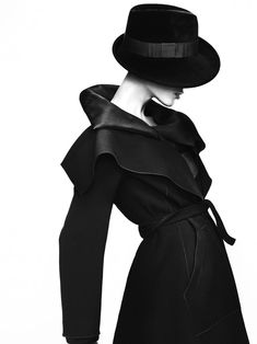 Aymeline Valade is the Face of Giorgio Armani's Fall 2012 Campaign by Mert & Marcus