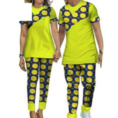 African Matching Clothing Couple Man Woman Cotton Print Patchwork Tailor-Made Latest African Men Fashion, Nigerian Men Fashion, Ghanaian Fashion, African Print Clothing, African Print Fashion, Africa Fashion, African Prints, Couples African Outfits, Best African Dresses
