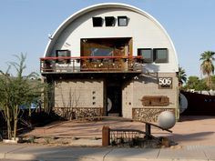 SteelMaster Q (Quonset Hut) Model on first story