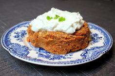 Madlaboratoriet: Lowcarb gulerodskage med yoghurt-cream cheese til én