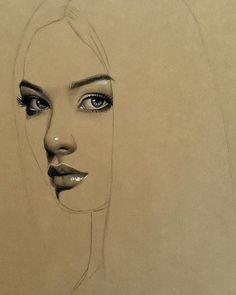 Iraklı Ressam Husam Wleed'ten 20+ Parlak ve Gerçekçi Kadın Portresi Sanatlı Bi Blog 1