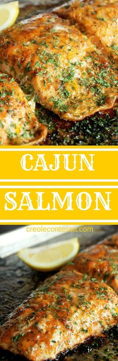 Get the recipe ? Cajun Salmon /recipes_to_go/ Get the recipe ? Cajun Salmon /recipes_to_go/ Cajun Recipes, Seafood Recipes, Dinner Recipes, Cooking Recipes, Healthy Recipes, Easy Recipes, Paleo Dinner, Grilling Recipes, Fresh Salmon Recipes