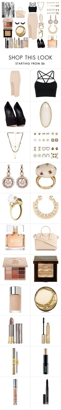 """""""Untitled #703"""" by asiebenthaler ❤ liked on Polyvore featuring Maurie & Eve, WithChic, Giuseppe Zanotti, Boohoo, Ettika, Charlotte Russe, Selim Mouzannar, BIBI VAN DER VELDEN, Givenchy and Stila"""