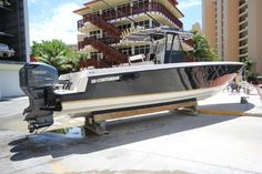 This boat is ready to fish. Have a look at Contender 36 CC. Used Boats, Center Console, Boats For Sale, Fish, Outdoor Decor, Pisces