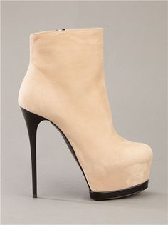 perfect beige bootie