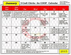 3 Craft Chicks: Welcome to 2015!!! Let's get CRAFTIN'...