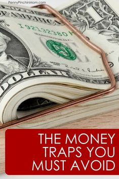 The money traps that you are falling for and need to avoid when you create a budget and get out of debt. Ways To Save Money, Money Tips, Money Saving Tips, Money Hacks, Budget Organization, Create A Budget, Get Out Of Debt, Managing Your Money, Budgeting Tips