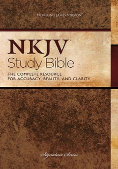 Thomas Nelson Bibles -   NKJV Study Bible