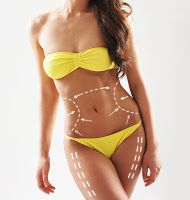 Stock photo - beautiful and fit female body with the drawing arrows. plastic surgery, healthy nutrition, liposuction, sport and cellulite removal concept. Fit Women Bodies, Female Bodies, Wellness Massage, Sport Body, Liposuction, Ohana, Facon, Sport Girl, Plastic Surgery