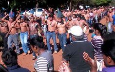 'Fazendeiros tiram nossa vida como se fossemos animais', diz líder guarani-kaiowá - http://controversia.com.br/19782