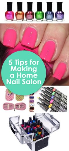 Save Money And Set Up A Home Nail Salon With These Fun Products Tips