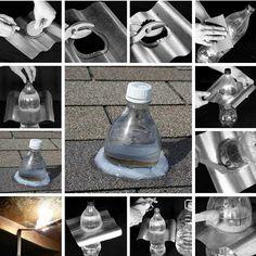 50 Watt without electricity Solar lighting DIY