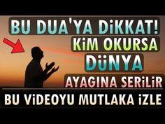 Dikkat! Kim bu zikre devam ederse, istemese de dünya ona zorla gelir! (Hayatınız Değişsin) - YouTube Allah, Youtube, Youtubers, Youtube Movies