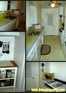 Simple Living Challenge Day 9: Simple Organized Kitchen: