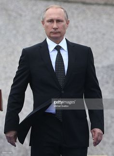PETERSBURG, RUSSIA - JULY, 31 (RUSSIA OUT) Russian President Vladimir Putin attends a celebration of Navy Day on July 31, 2016 in Saint Petersburg, Russia.