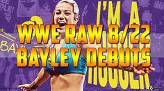 WWE Raw 8/22/2016 | Bayley Debut Finn Balor Gives Up WWE Universal Champ...