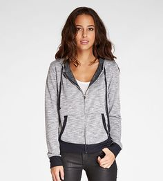 BUY on our partner site Threads 4 Thought - Women's Dharma Zippie Hoodie Jacket. Stylish French terry zip up hoodie makes a great layering pieceFull front zipDrawstring hoodFront pocketsRibbed banded