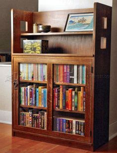 #2816 Bookcase Plans - Furniture Plans