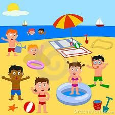 Illustration about Kids playing together on the beach. Eps file available. Accepted for Play! Assignment (march Illustration of action, children, girls - 8512301 Playground Rubber Mulch, Children Images, Beach Scenes, Technology Logo, Kids Playing, Pikachu, Logo Design, Colours, Cartoon