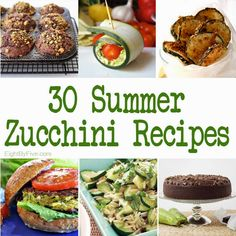30 Delicious Summer Zucchini Recipes - Eat Drink Eat