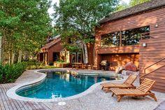 Mansion dream house: John Denver's Aspen Cabin