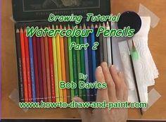 Video Detail for Watercolor Pencils -Part 2 Watercolor Pencils Techniques, Watercolor Pencil Art, Watercolour Tutorials, Watercolor Print, Watercolour Painting, Colored Pencil Tutorial, Colored Pencil Techniques, Classroom Art Projects, Art Classroom
