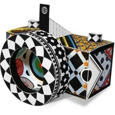 Cool DIY pinhole paper camera with instructions and template for free download #coolhunting #craft #DIY