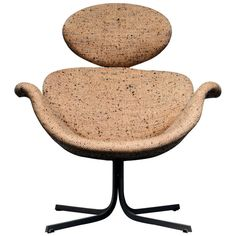 Pierre Paulin F551 Rare First Edition Chair, All Original   From a unique collection of antique and modern armchairs at https://www.1stdibs.com/furniture/seating/armchairs/