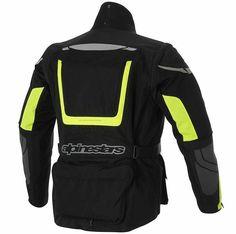 Jaqueta Alpinestars Calama Drystar Preta/Amarela - OnMoto! Acessórios e Equipamentos para Motociclistas