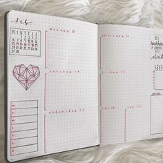 "pridebulletjournal: ""Pink theme for Valentine's Day next week! The snow on my skylight mess up my lighting, oh well. Next week I'll be starting the 100 days of productivity challenge. Check out my instagram to see all of my original work in one..."