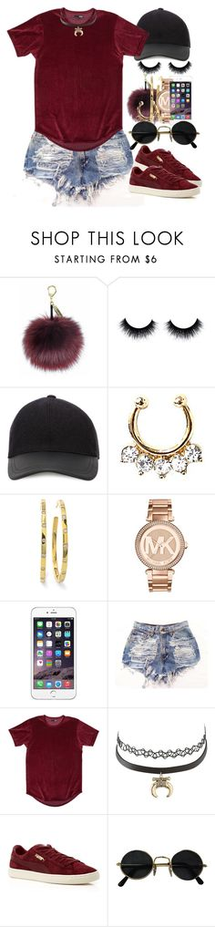 """""""Untitled #17"""" by thaofficialtrillqueen ❤ liked on Polyvore featuring Canali, Ippolita, Michael Kors, Charlotte Russe and Puma"""