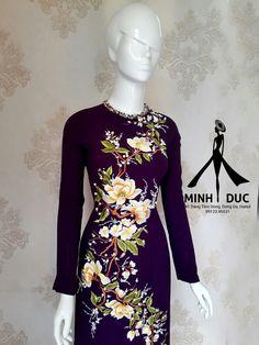Chinese Brush, Silk Art, World Of Color, Ao Dai, Fabric Painting, Flower Prints, Kurti, Mac, Saree