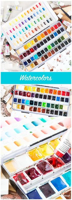 My favorite watercolors and how I chose them -