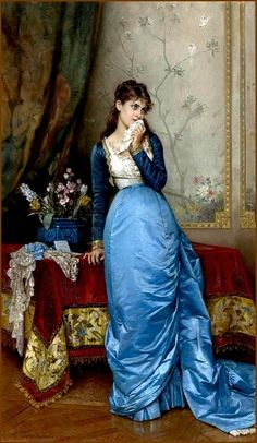 Auguste Toulmouche The Letter painting for sale, this painting is available as handmade reproduction. Shop for Auguste Toulmouche The Letter painting and frame at a discount of off. Auguste, Victorian Art, Oil Painting Reproductions, Classical Art, Woman Painting, Painting Art, Beautiful Paintings, Fashion History, Female Art