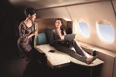 Conectividad en nuestros futuros vuelos Singapore Airliness