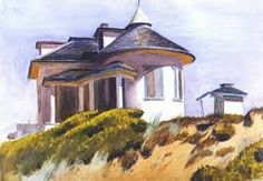 House on Dune Edge(1931)-Edward Hopper