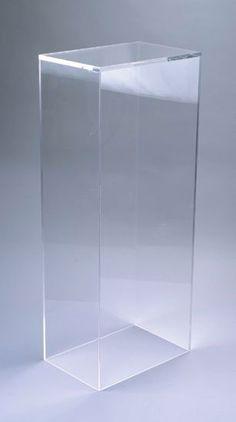 htm pedestals black square lucite pedestal acrylic