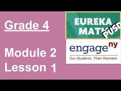 EngageNY Grade 4 Module 2 Lesson 1 - YouTube