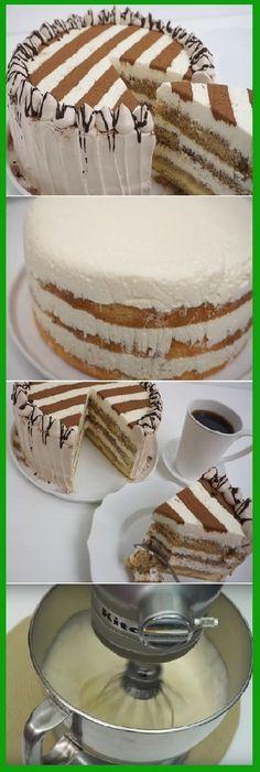 Tengo q hacerlo Best Cake Recipes, Sweet Recipes, Dessert Recipes, Desserts, Easy Cake Decorating, Tiramisu Cake, Drip Cakes, How Sweet Eats, Creative Cakes