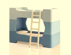 Stackable bunk beds by Magis MeToo