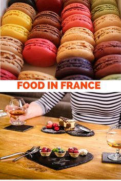 Exploring the food and wine in France via regions!So much to eat and relish in the country!